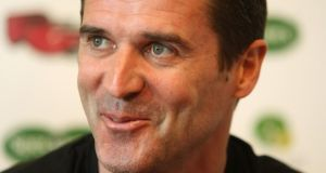 Roy Keane said he was looking forward to working with Roddy Doyle Photograph: Frank Miller/ Irish Times
