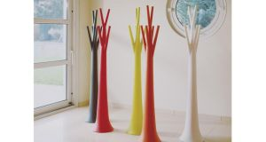 Add a pop of colour to your home with these eye-catching Bonaldo batch-dyed polyethylene tree coat and hat stands. Measuring  31cm by 175cm, they come in 12 colours and finishes and can be used indoors and outside. Lomi Design (01-8397001, lomi.ie), Unit 124, Baldoyle Industrial Estate, Dublin 13, is offering Irish Times readers who present today's column 10 per cent off its asking price, making it €288 instead of €320, on orders placed before January 31st.