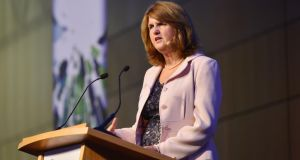 Minister for Social Protection Joan Burton. Photograph: Alan Betson/The Irish Times.