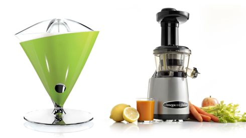 Vita juicer, €132.24, Bugatti at amazon.co.uk Omega Vert Juicer, €409.00, juicers.ie