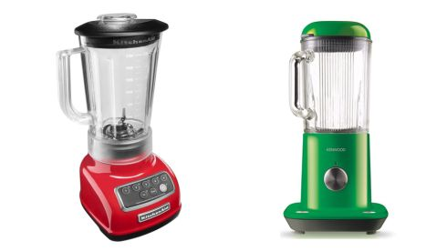 Artisan Red blender, €215, KitchenAid at Debenhams kMix, €144, Kenwood at Arnotts