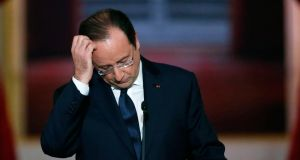 The Hollande affair: perhaps a little more 'Confessions of a Window Cleaner' than 'Les Liaisons Dangereuses'. Photograph: Ian Langsdon/EPA