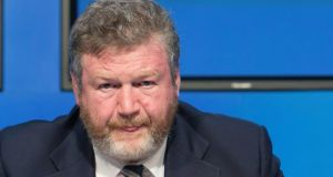 Minister for Health James Reilly said what had happened was 'quite shameful' and there was a determination that the system be cleaned up and 'we have transparency'. Photograph: Gareth Chaney Collins