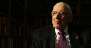 "Former First Minister   and Democratic Unionist leader Ian Paisley:  said if one of his family had become romantically involved with a Catholic: ""I wouldn't have liked it but we [he and his wife Eileen] would lump it.""   Photograph: BBC NI/PA"