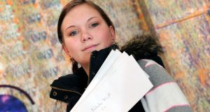 "Wisbech-born jobseeker Natasha Wright (20) was handing out her CV: ""I do feel that it has made it more difficult for me to get a job ,"" she says. Photograph: Philip Mynott"