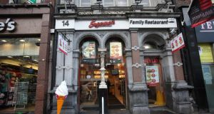 A Supermacs branch in  Dublin: A Polish woman won her case against Shedan Ltd, a company that runs the Supermac's fast food restaurant franchise in Ballindine, Co Mayo, together with a Costcutter grocery shop in an adjoining filling station. Photograph: Brenda Fitzsimons