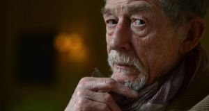 John Hurt: guest at festival.   Photograph: Cyril Byrne