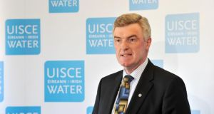 Irish Water managing director John Tierney. Irish Water spent €50 million on consultants in 2013.
