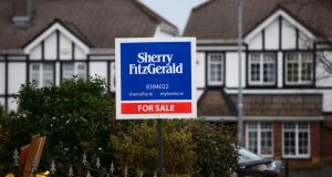 According to the latest Eurostat figures, house prices here rose by 4.1 per cent in the third quarter of last year compared with the previous quarter. Photograph: Alan Betson