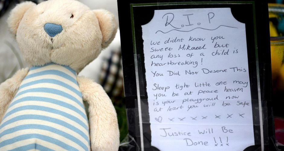 Tributes for Mikaeel Kular in Edinburgh