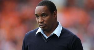 Paul Ince's tenure as Blackpool manager has come to an end. Photograph: Barrington Coombs/PA Wire