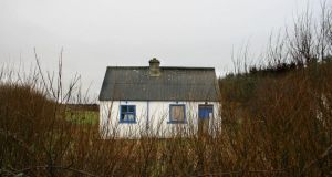 The home of Michael McMahon (68) which he abandoned after being terrorised by thugs near Cree, Co Clare. Photograph: Press 22