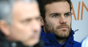 "Chelsea's Juan Mata:  ""I've tried to improve . . . to be more clever, do something before the defender can think of it."". Photograph: PA"