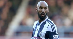 French striker Nicolas Anelka has been charged by the Football Association over his controversial 'quenelle' goal celebration. Photograph: Stephen Pond/PA Wire