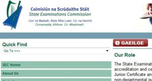 External applicants were unable to apply on examinations.ie to sit the Leaving Cert, but the problem has been rectified.
