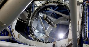 Inside the Very Large Telescope. Photograph: Barbara McCarthy