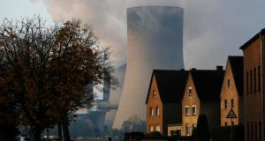 """We are not going to dig up the continent to reduce our €545 billion annual fossil-fuel import bill. Nor is nuclear going to provide a cheaper economic alternative."" The coal power plant of German utility RWE Power near the western town of Niederaussem. Photograph: Reuters/Ina Fassbender"