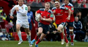 Munster's Keith Earls has been ruled out of at least Ireland's openibng two Six Nations game with a knee injury. Photograph: Dan Sheridan/Inpho