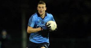 Dublin footballer Jason Whelan has been banned for eight weeks.  Photograph: Donall Farmer/Inpho