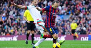 The La Liga match between FC Barcelona and Granada CF at Camp Nou on November 23, 2013 in Barcelona. Photograph:David Ramos/Getty Images