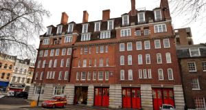Clerkenwell fire station in London, once Britain's oldest,  has been closed.  Photograph:  John Stillwell/PA