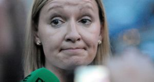 Lucinda Creighton: a great woman who in a healthy country would be embraced as a God-sent force. Photograph: Dave Meehan