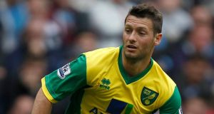 Norwich have turned down a transfer request from midfielder Wes Hoolahan. Photograph:  Dave Thompson/PA Wire