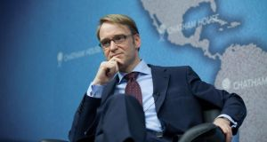 Bundesbank president Jens Weidmann: says Berlin backed Ireland's stance on bondholders.