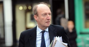 Independent TD Shane Ross who described as 'extraordinary' some of the comments  by the Garda Commissioner Martin Callinan to the PAC yesterday. Photograph: The Irish Times