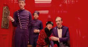Wes Anderson's Grand Budapest Hotel