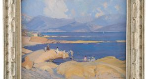 South of France by  André Lagrange for auction by Drum's with an estimate of €3,000-€4,000.