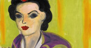 Boléro Violet by  Henri Matisse which will be sold at Sotheby's Impressionist, Modern and Surreal Art sale on February 5th with a top estimate of €10 million