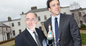 Professor Brian Glennon and Dr Mark Barrett, co-founders of the UCD spin-out company, APC