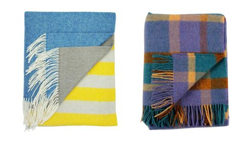 Lambswool throw, €131.70, Twig at notonthehighstreet.com Irish wool blanket, €90, cushendale.ie