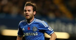 Juan Mata: Spain international  on his way to  Manchester United.