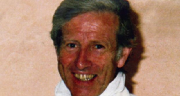 Fr Niall Molloy who died at Clara Co Offaly in July 1985