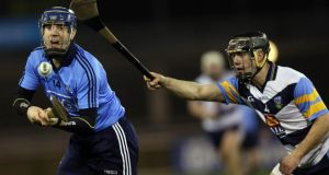 Paul Ryan: contributed 1-7 from frees for Dublin against Wexford at Gorey. Photo: Donall Farmer/Inpho