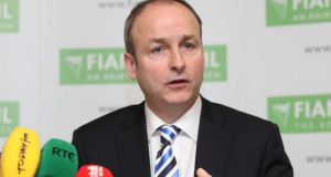 "Fianna Fáil leader Micheál Martin: ""It seems to me that Ruairí Quinn has a particular problem with religion and a problem with religion in our schools"""