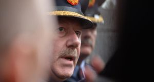 Commissioner Martin Callinan: attended the PAC with a delegation of senior officers for a five-hour grilling on the penalty points issue last week.  Photograph: Alan Betson / The Irish Times