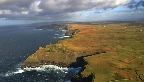 August: Hag's Head at the Cliffs of Moher, Co Clare. Photograph: Jerry Kennelly