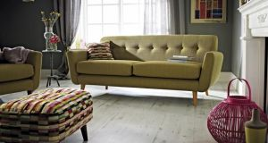 In the market for new seats? Kilkenny-based Meubles Home of Inspiration (056-7722034, meublesfurniture.com) in Kilkenny Retail Park has a smart modernist sofa, Bette, 192cm by 85cm by 80cm, in more than  40 colours and reduced from €1,129 to €899. There is also a rather funky footstool in the same Bette range, 70cm by 45cm by 40cm, reduced 19 per cent from €355 to €289. Zack, 66cm by 49cm by 50cm, a cantilevered stainless steel dining chair in red, black or white leather, is down from €299 to €239. Offers end February 23rd.