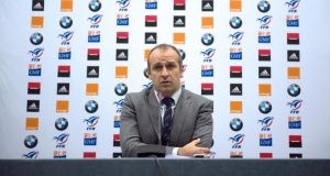 France head coach Philippe Saint-Andre