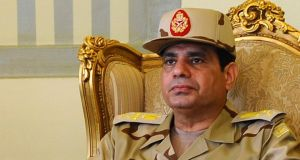 Egyptian army chief   Abdel Fattah al-Sisi, who has been promoted to the rank of field marshal, fuelling speculation he is about to retire from the military and run for president. Photograph: Reuters
