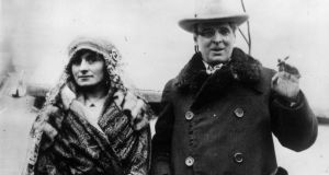 Yeats with his wife George. Photograph: Keystone/Getty Images