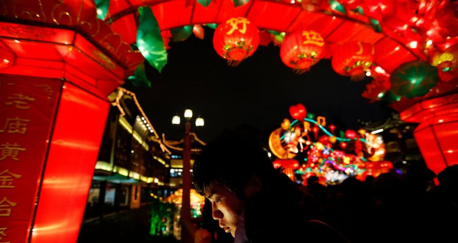 Preparations for Chinese New Year