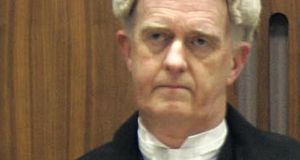 Mr Justice Peter Charleton was one of 17 judges who heard the case. Photograph: Dara Mac Dónaill