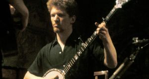 Luke Kelly performing in a London club circa 1964. Photograph: Brian Shuel/Redferns
