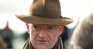 Willie Mullins: Was  successful with Hedgehunter in 2005 .   Fairyhouse Racing, Fairyhouse Racecourse, Co. Meath 19/1/2014Trainer Willie Mullins at Fairyhouse todayMandatory Credit ©INPHO/Morgan Treacy