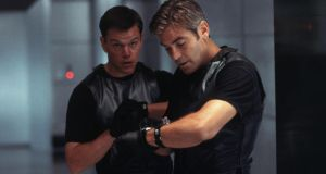Movie music: Matt Damon and George Clooney in Ocean's Eleven, scored by David Holmes
