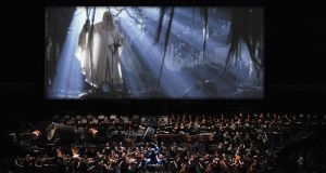 Movie music: Lord of the Rings: The Two Towers, scored by Howard Shore, in concert